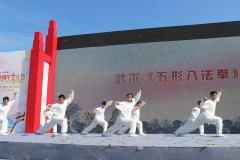 少林五形八法拳实战32势功法展示
