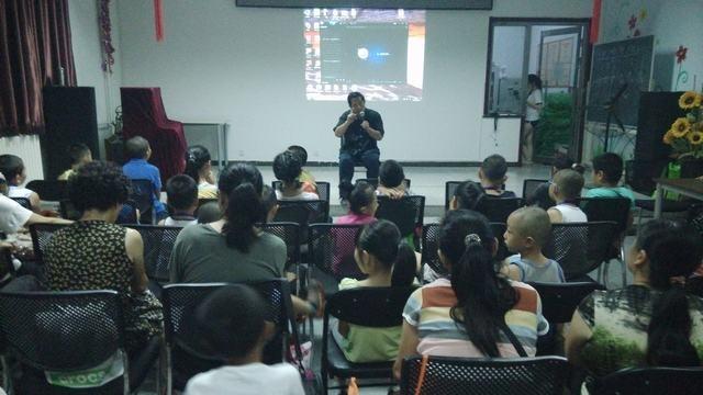 中国传统武学走入社区