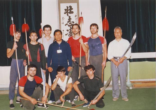 少林五形八法拳研究会部分中外学员和弟子