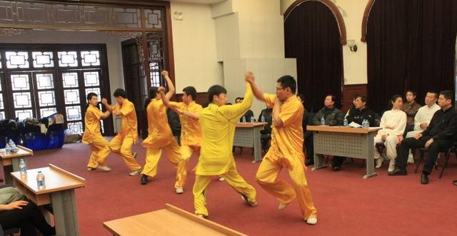 2012年北京市少林五形八法拳研究会年会在清华大学举行