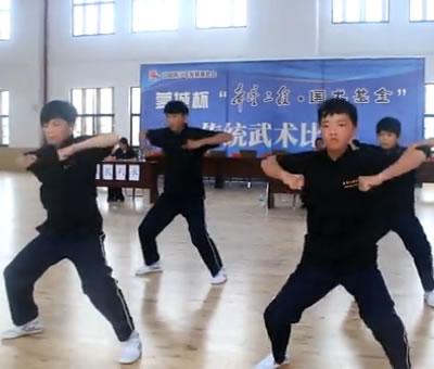 希望工程国术基金首届全国传统武术比赛——中学组2